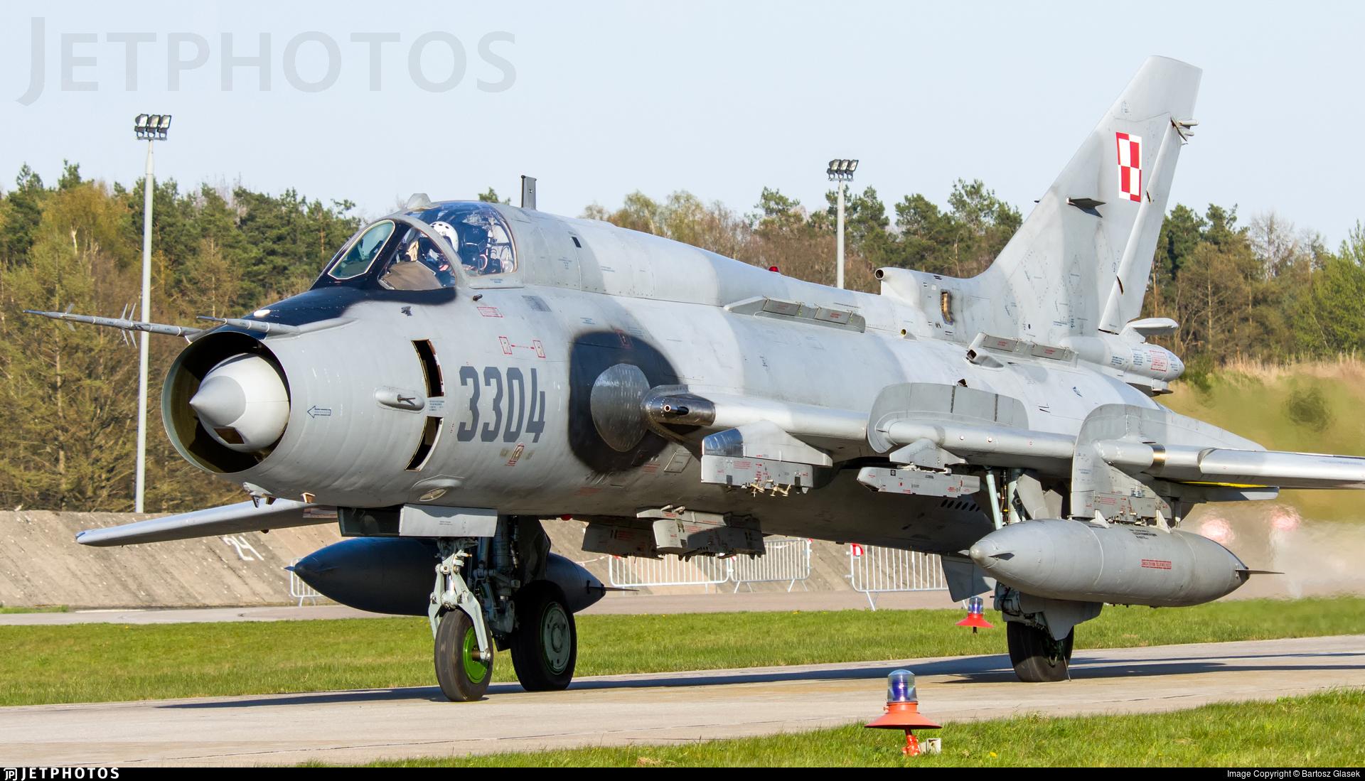 3304 - Sukhoi Su-22M4 Fitter K - Poland - Air Force