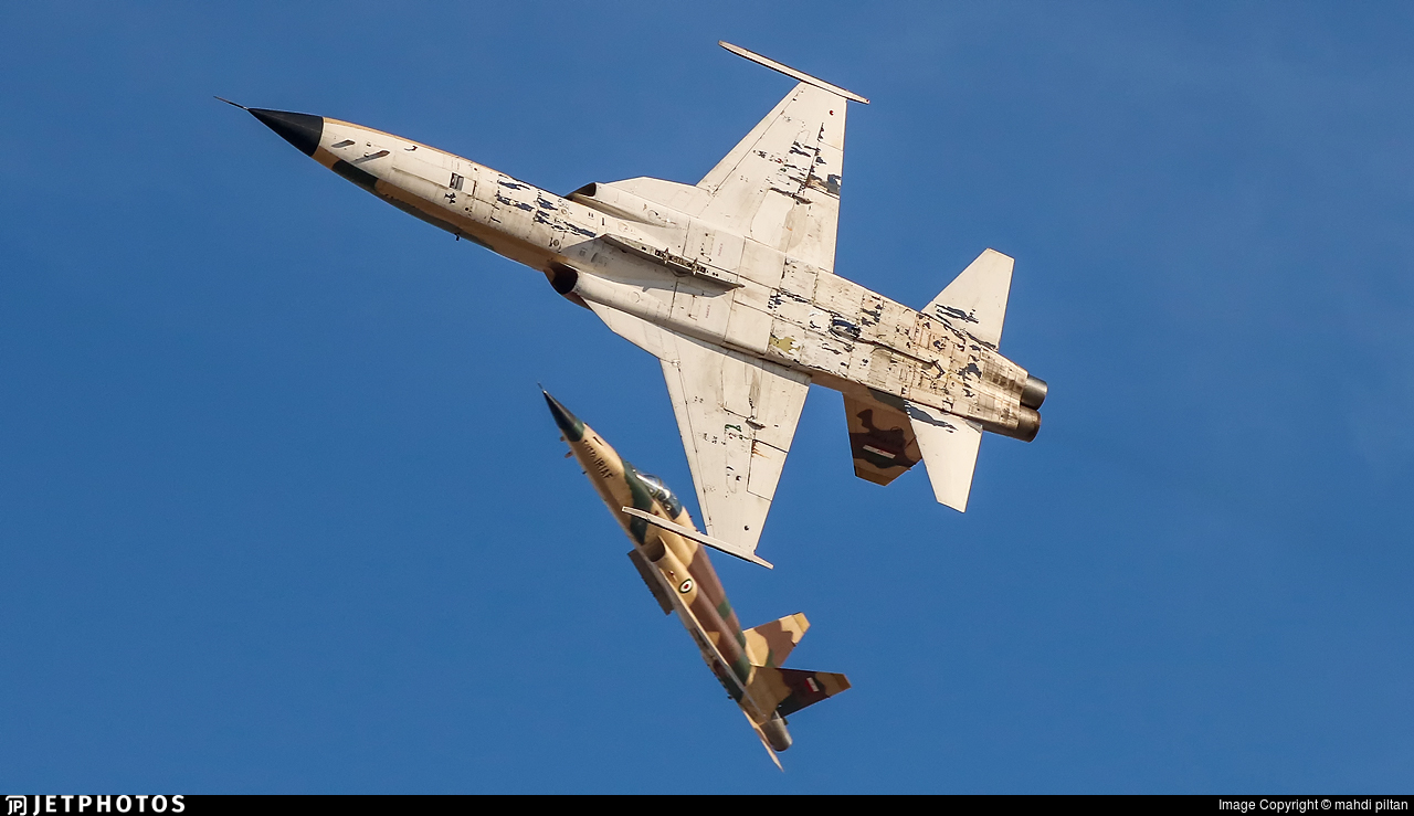 3-7368 - Northrop F-5E Saeghe - Iran - Air Force