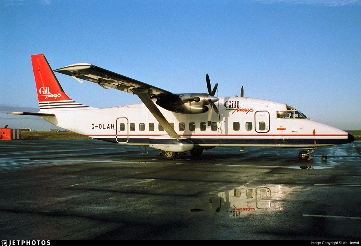 G-OLAH - Short 360-100 - Gill Airways