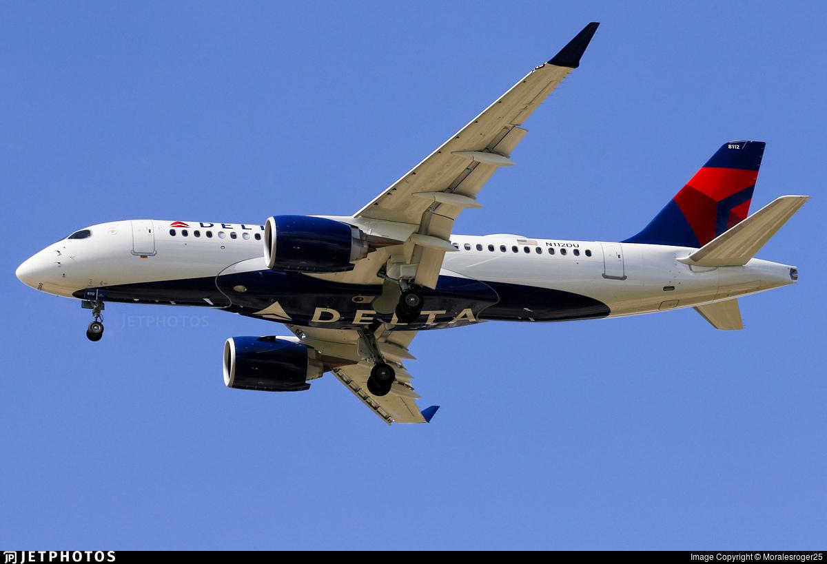 N112DU - Airbus A220-100 - Delta Air Lines