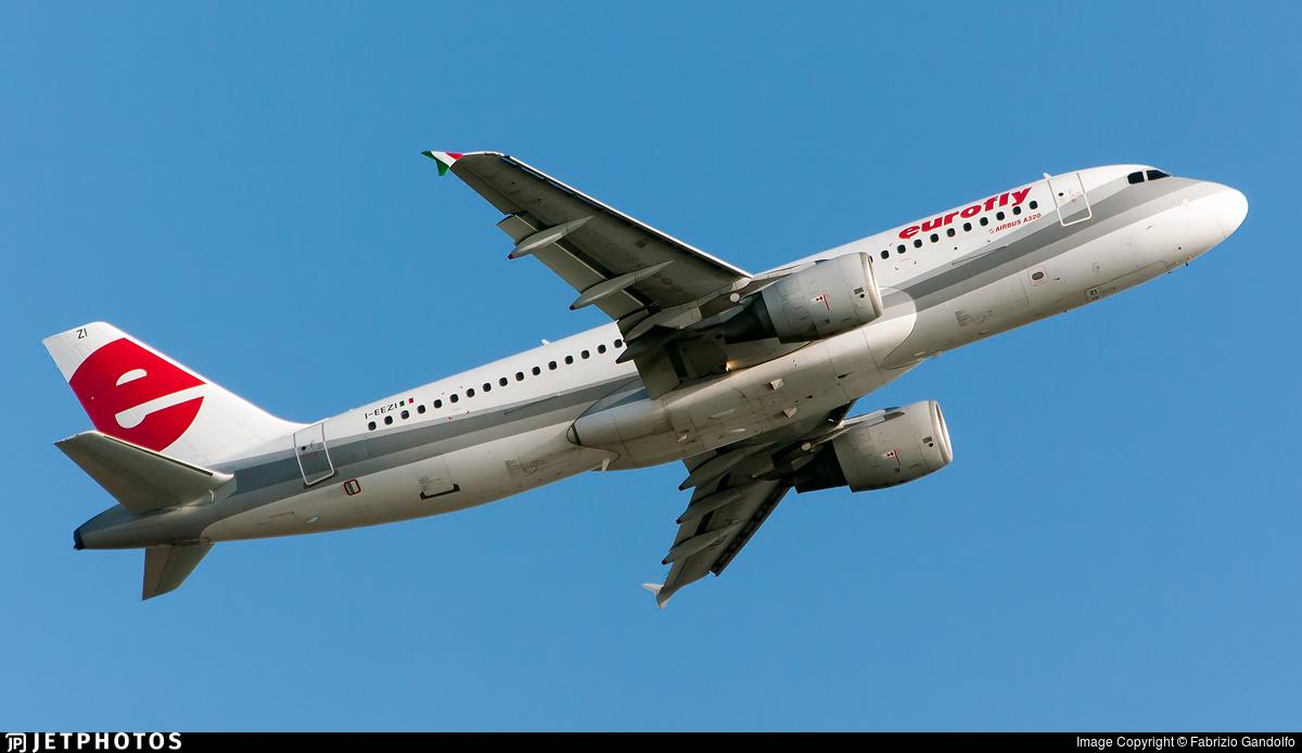 I-EEZI - Airbus A320-214 - Eurofly