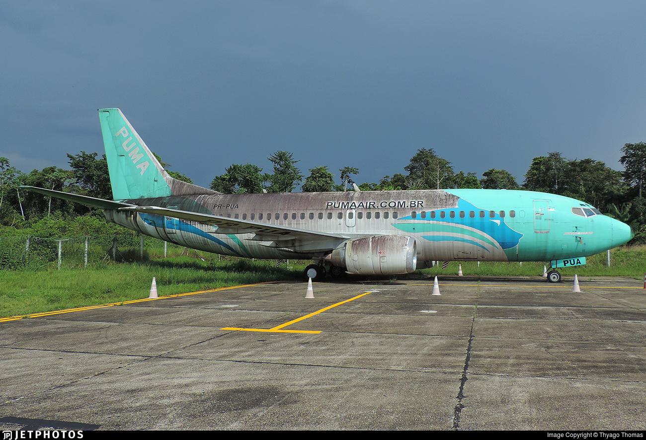 PR-PUA | Boeing 737-322 | Puma Air Linhas Areas | Thyago Thomas ...
