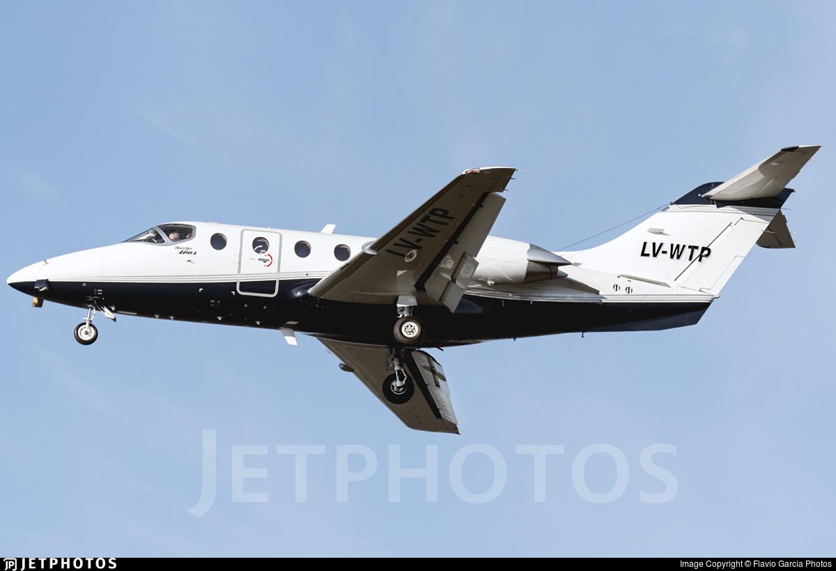 LV-WTP - Beechcraft 400A Beechjet - Private