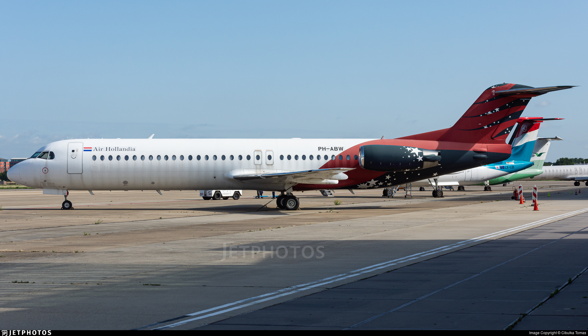 PH-ABW - Fokker 100 - Air Hollandia