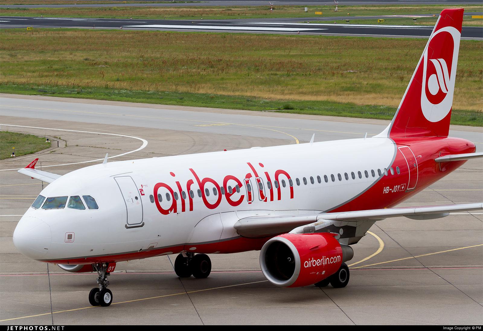 HB-JOY - Airbus A319-112 - Air Berlin (Belair Airlines)