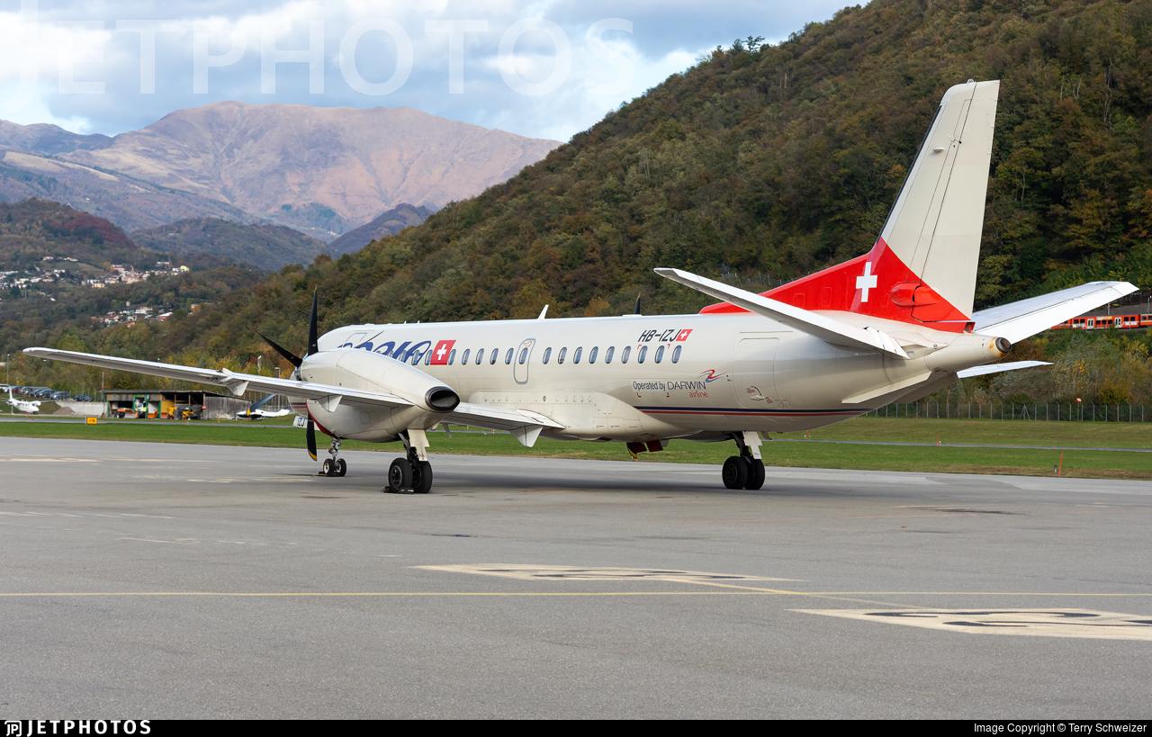 HB-IZJ - Saab 2000 - Adria Airways Switzerland