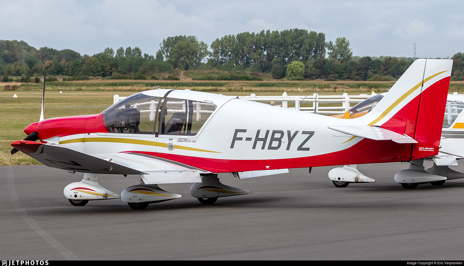 F-HBYZ - Robin DR400/135cdi Ecoflyer - Private