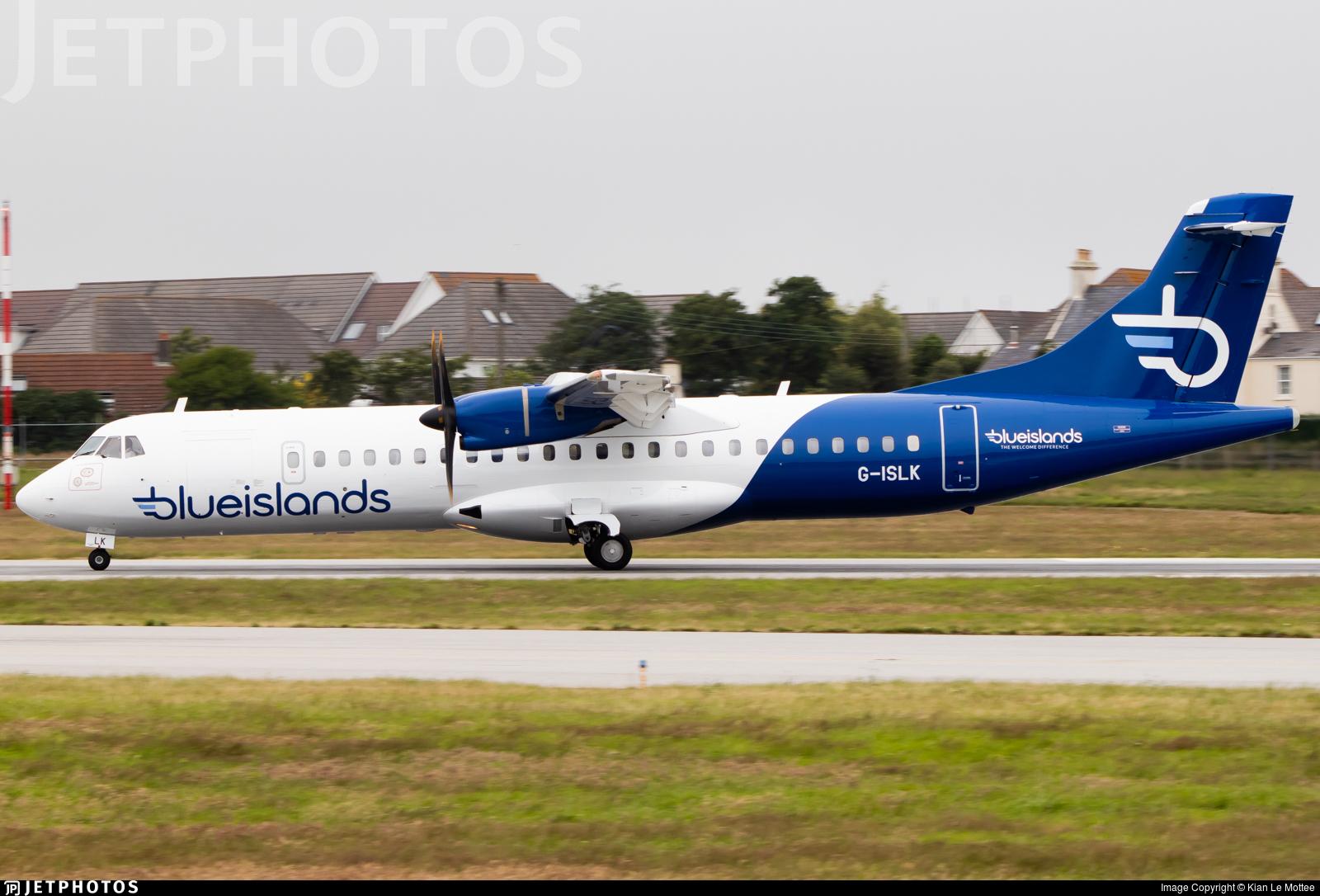 G-ISLK - ATR 72-212A(500) - Blue Islands