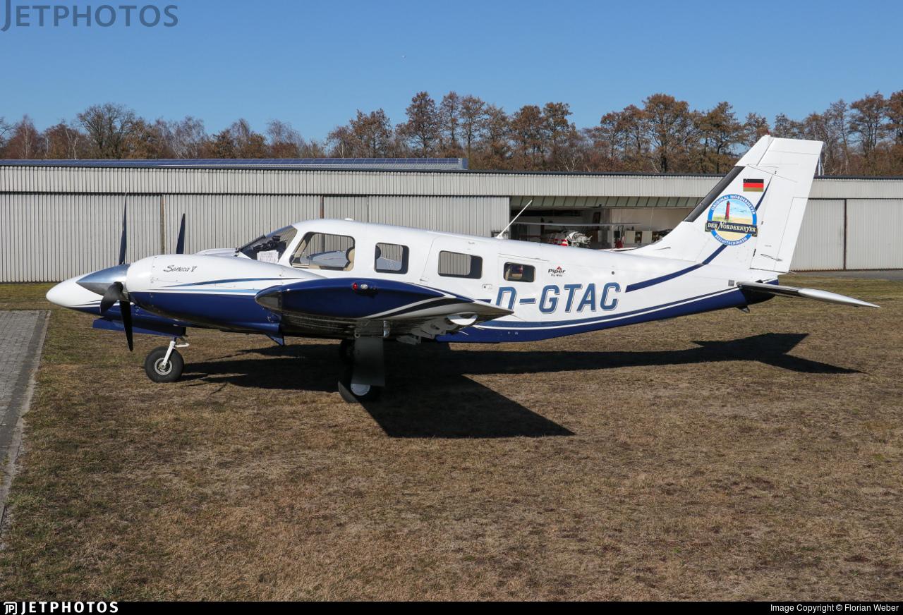 D-GTAC | Piper PA-34-220T Seneca V | Private | Florian Weber