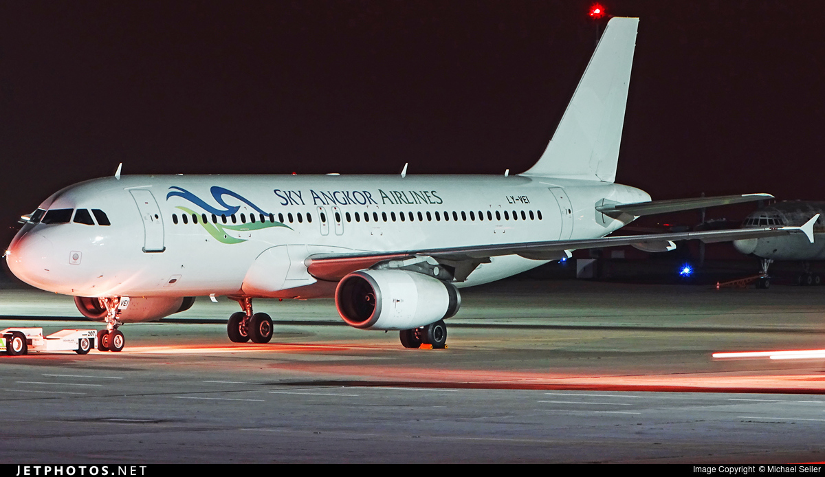 LY-VEI - Airbus A320-233 - Sky Angkor Airlines