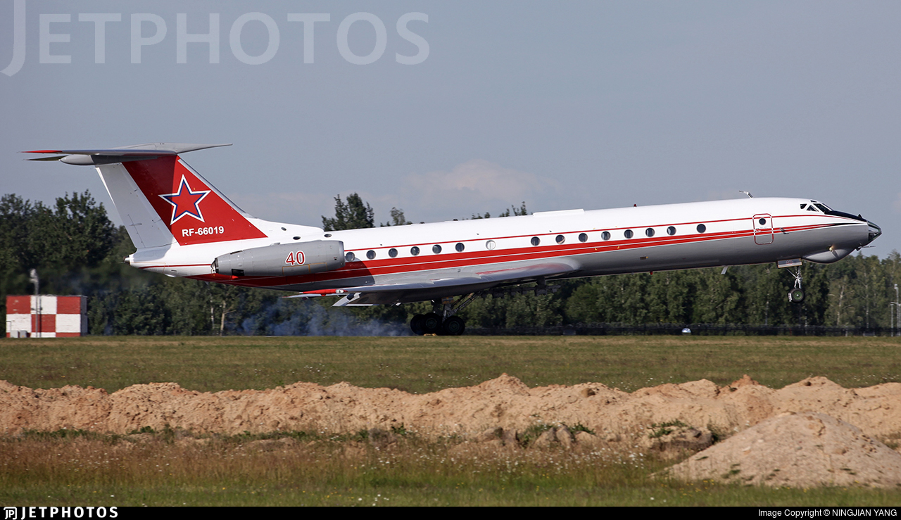RF-66019 - Tupolev Tu-134Sh - Russia - Air Force