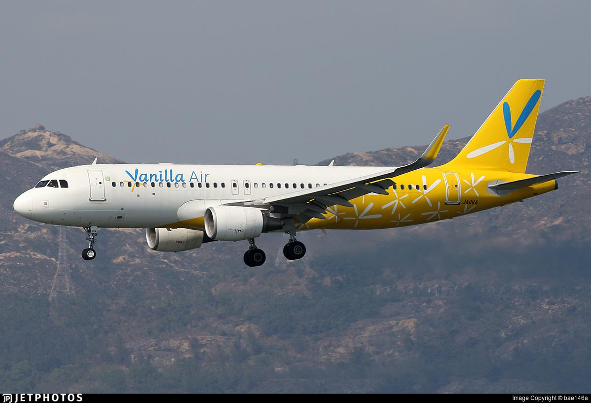 JA11VA - Airbus A320-214 - Vanilla Air