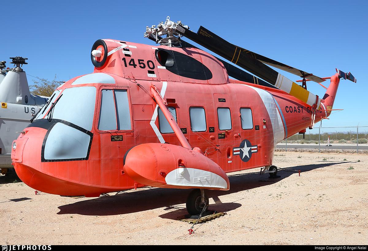 1450 - Sikorsky HH-52A Sea Guard - United States - US Coast Guard (USCG)