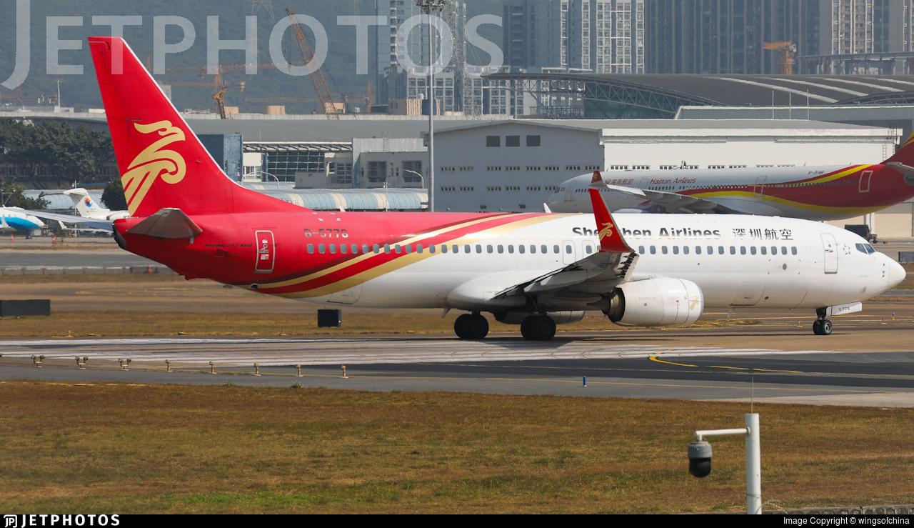 B-5776 - Boeing 737-87L - Shenzhen Airlines