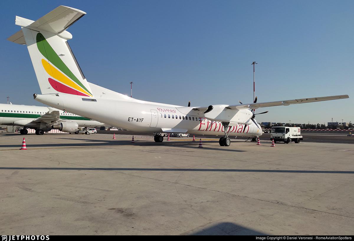 ET-AYF - De Havilland Canada Dash 8-402 - Ethiopian Airlines
