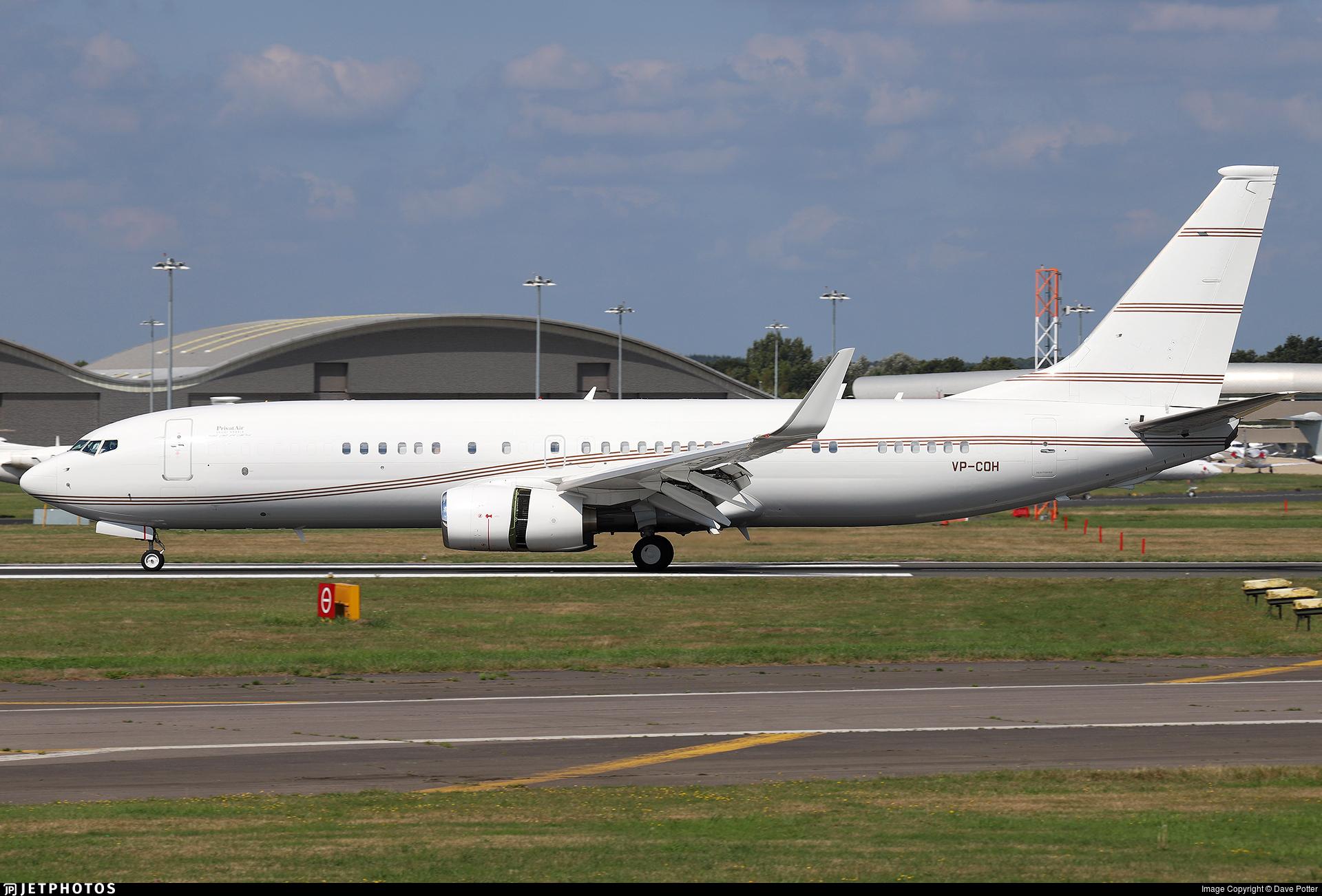 VP-COH - Boeing 737-8DR(BBJ2) - PrivatAir