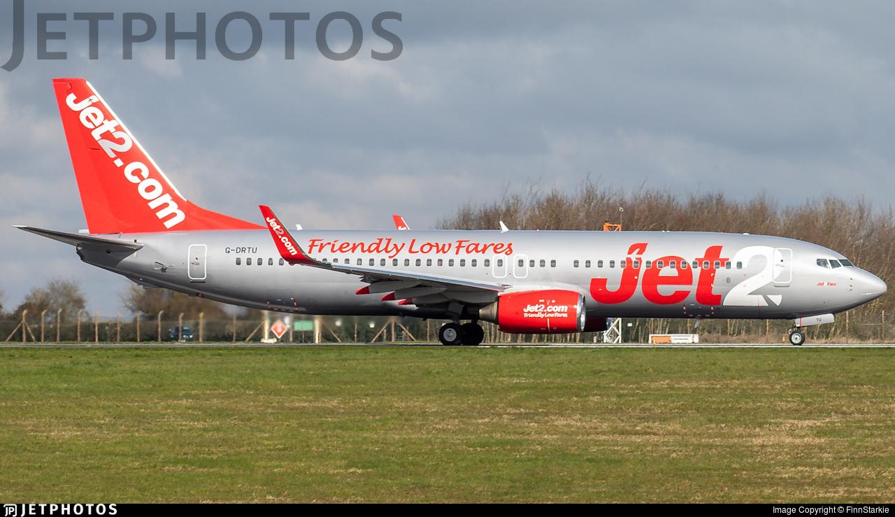 G-DRTU - Boeing 737-86N - Jet2.com