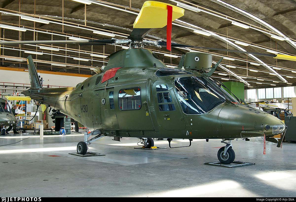 H30 - Agusta A109BA - Belgium - Army