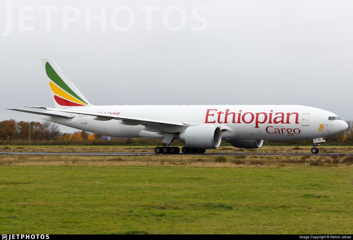 ET-AVQ - Boeing 777-F6N - Ethiopian Cargo