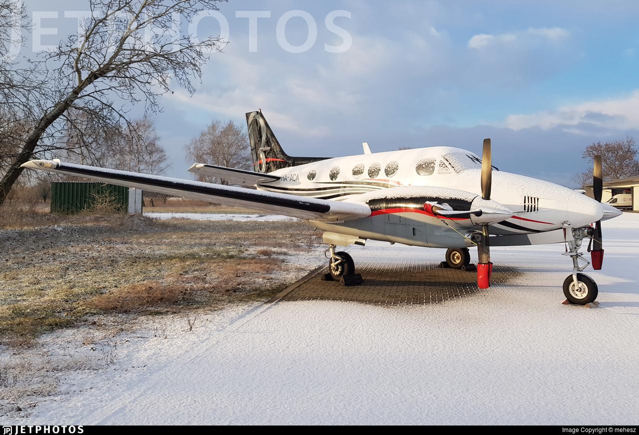 HA-ACA - Beechcraft C90B King Air - Private