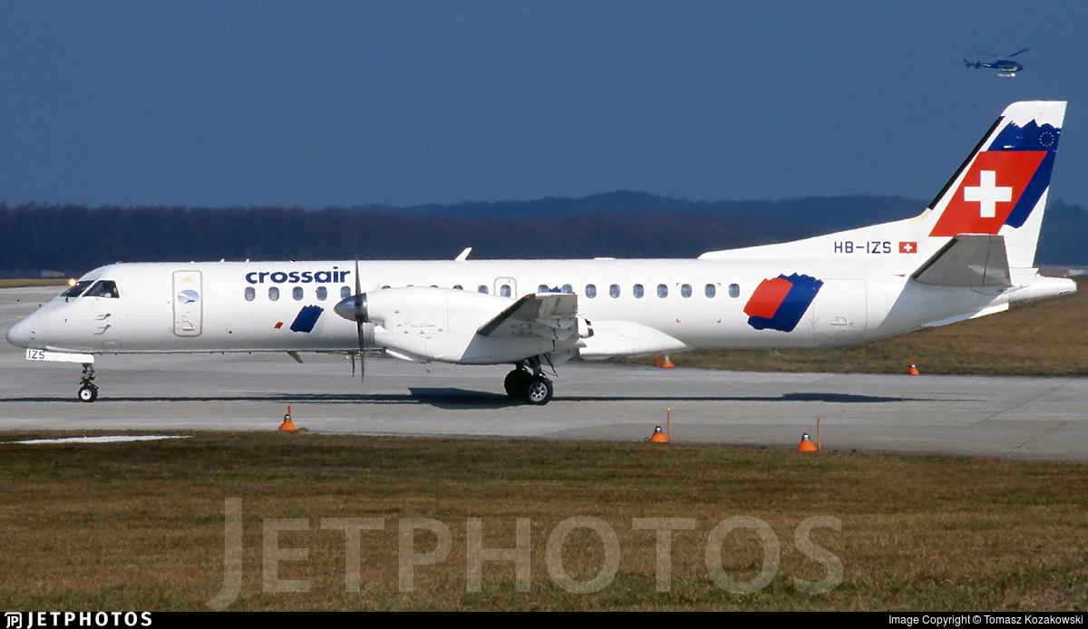 HB-IZS - Saab 2000 - Crossair