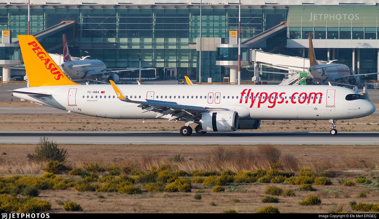 TC-RBA - Airbus A321-251NX - Pegasus Airlines