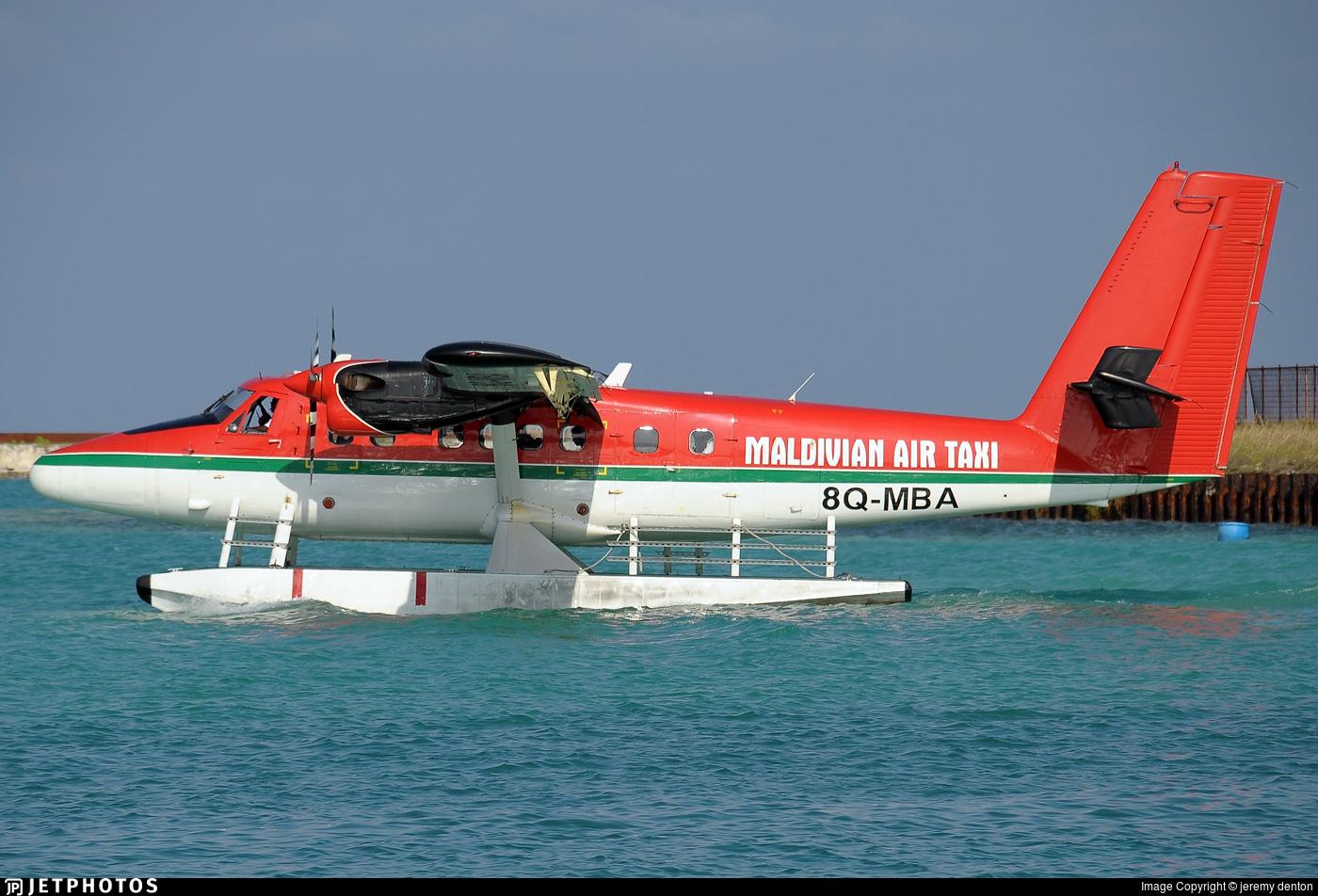 8Q-MBA - De Havilland Canada DHC-6-300 Twin Otter - Maldivian Air Taxi