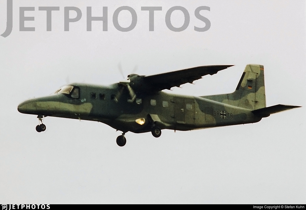 98-78 - Dornier Do-228-201 - Germany - Air Force