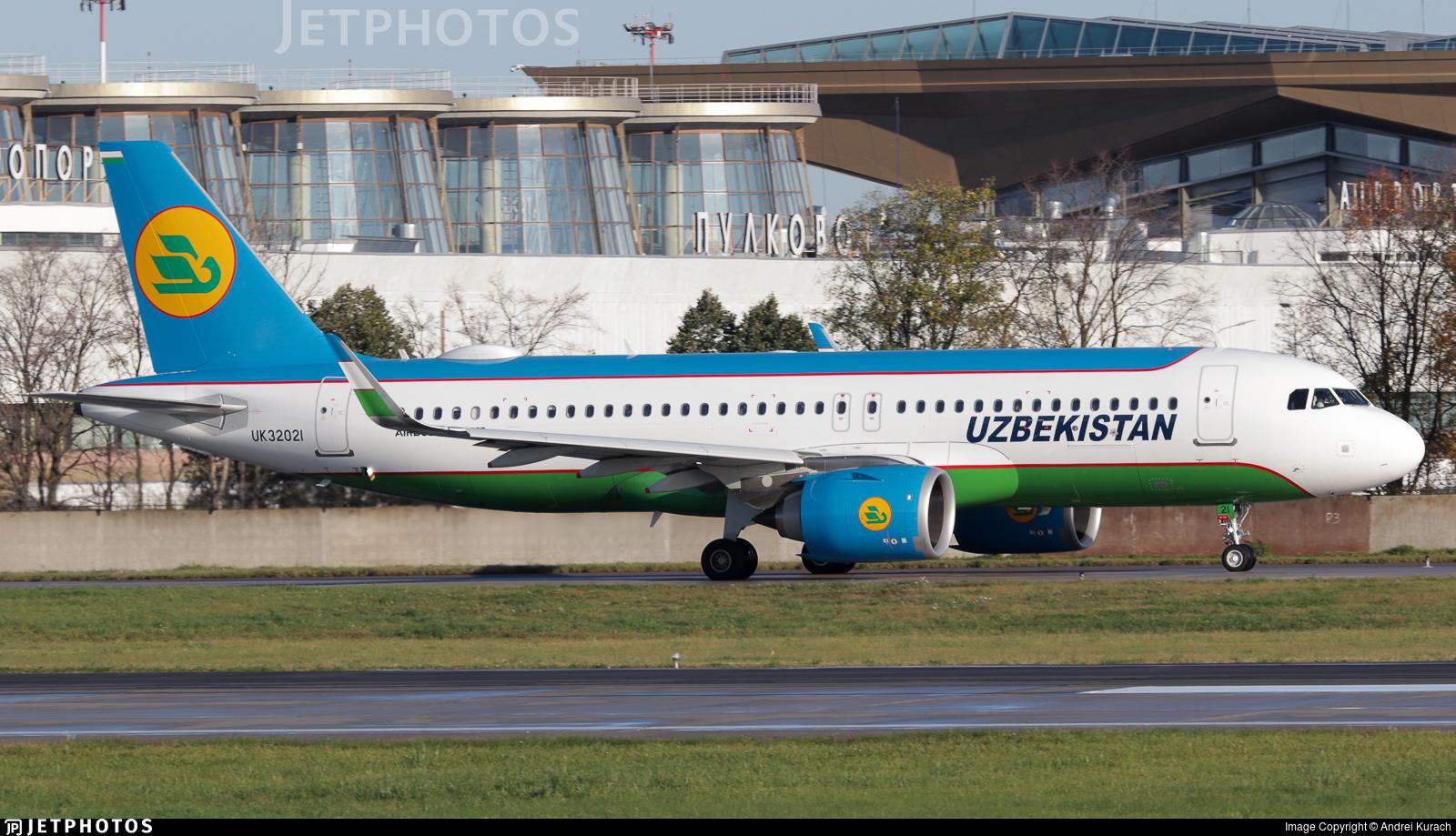 UK32021 - Airbus A320-251N - Uzbekistan Airways