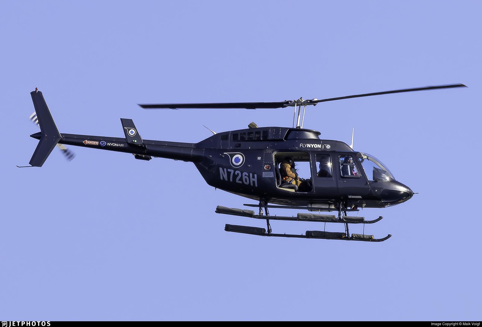 N726H - Bell 206L-3 LongRanger III - FlyNYON
