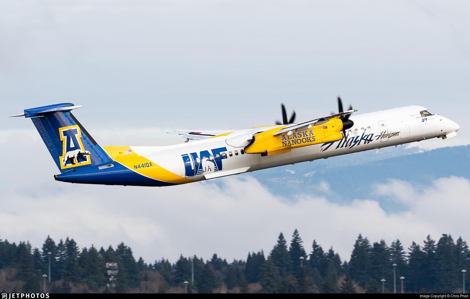 N441QX - Bombardier Dash 8-Q402 - Alaska Airlines (Horizon Air)