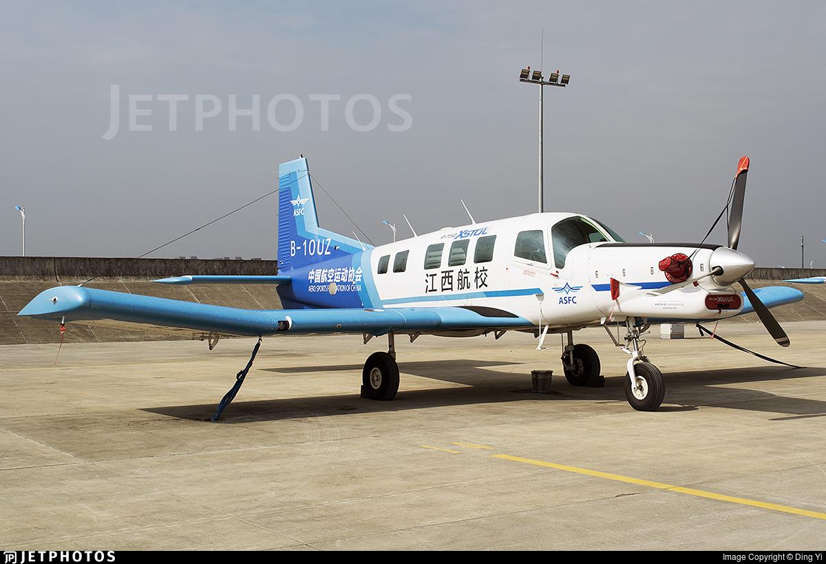 B-10UZ - Pacific Aerospace P-750 XSTOL - Aero Sports Federation of China