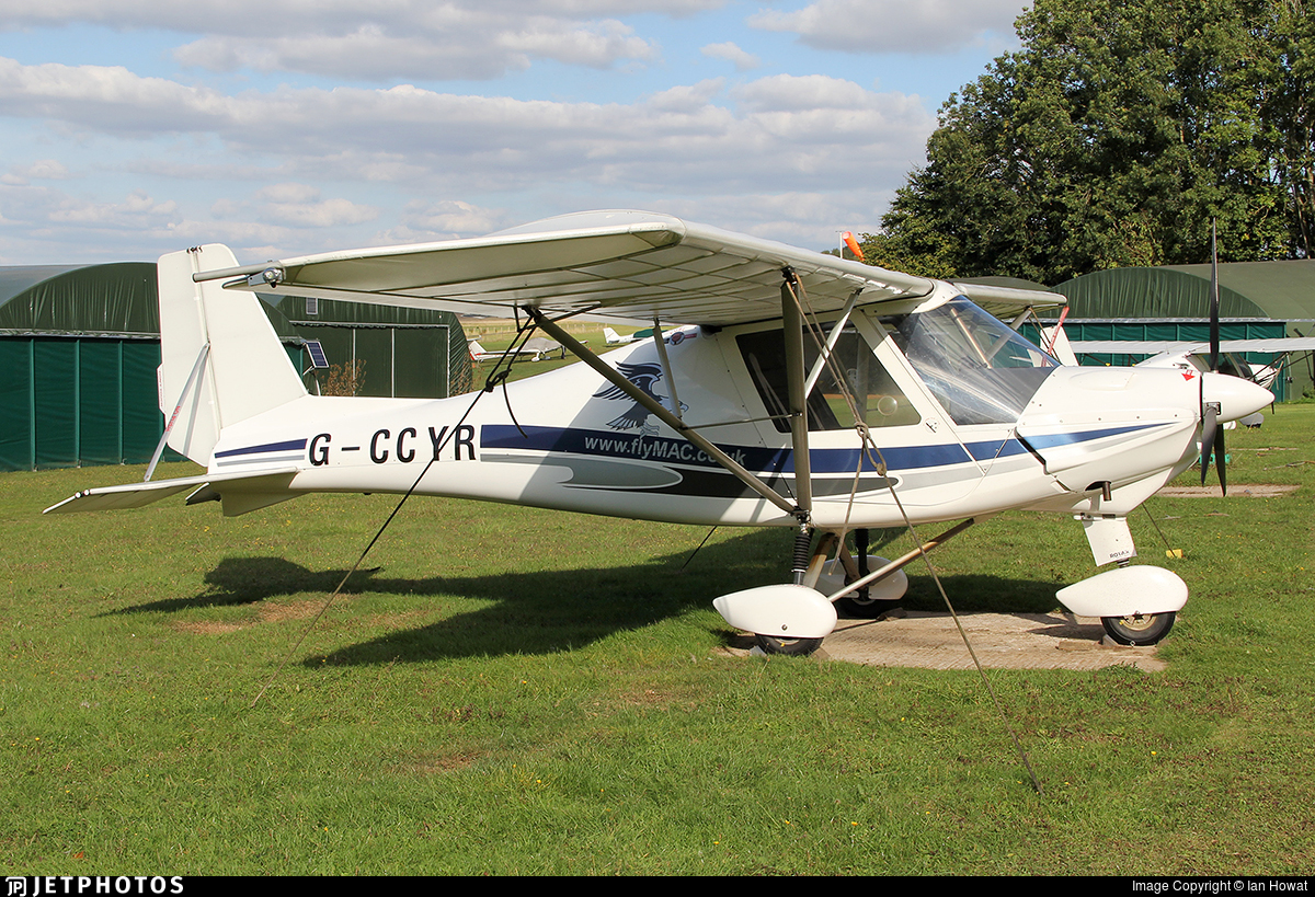 G-CCYR - Ikarus C-42 FB80 - AirBourne Aviation