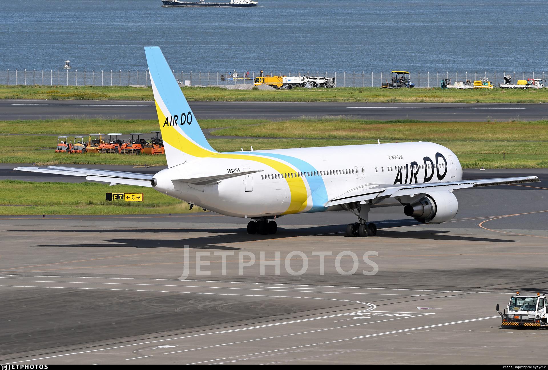 JA613A - Boeing 767-381(ER) - Air Do (Hokkaido International Airlines)