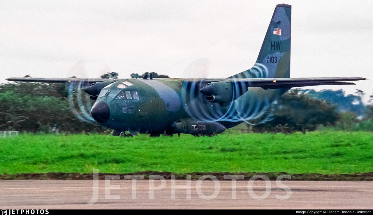 91-0103 - Alenia C-27A Spartan - United States - US Air Force (USAF)