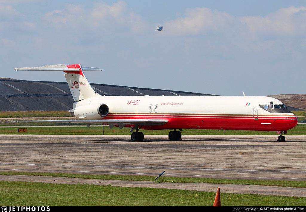 XA-UZC - McDonnell Douglas MD-82(SF) - Aeronaves TSM