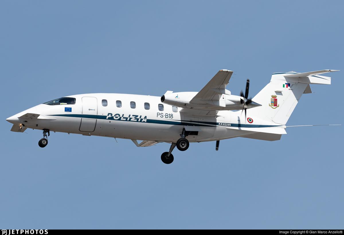 MM62285 - Piaggio P-180 Avanti II - Italy - Polizia di Stato