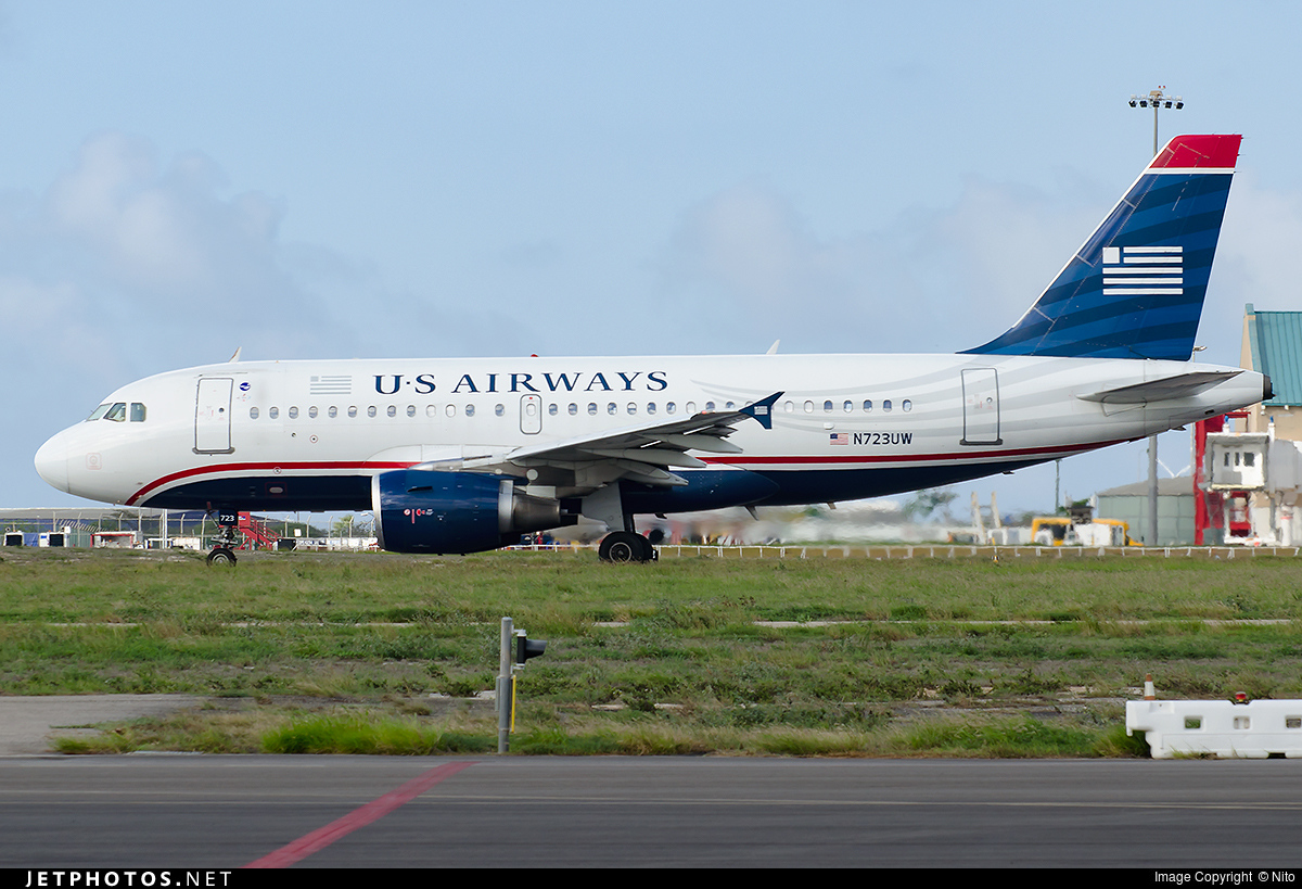 N723UW - Airbus A319-112 - US Airways