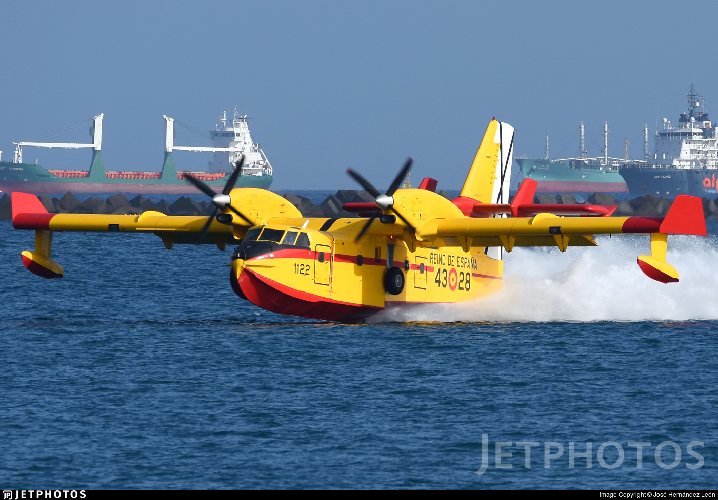 UD.13-28 - Canadair CL-215T - Spain - Air Force