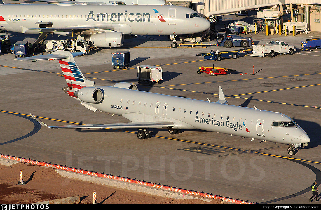N326MS - Bombardier CRJ-900LR - American Eagle (Mesa Airlines)