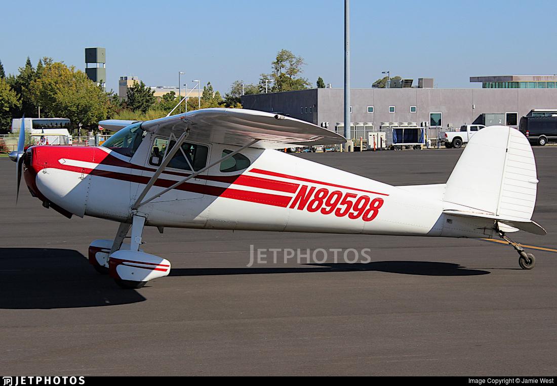 N89598 - Cessna 120 - Private