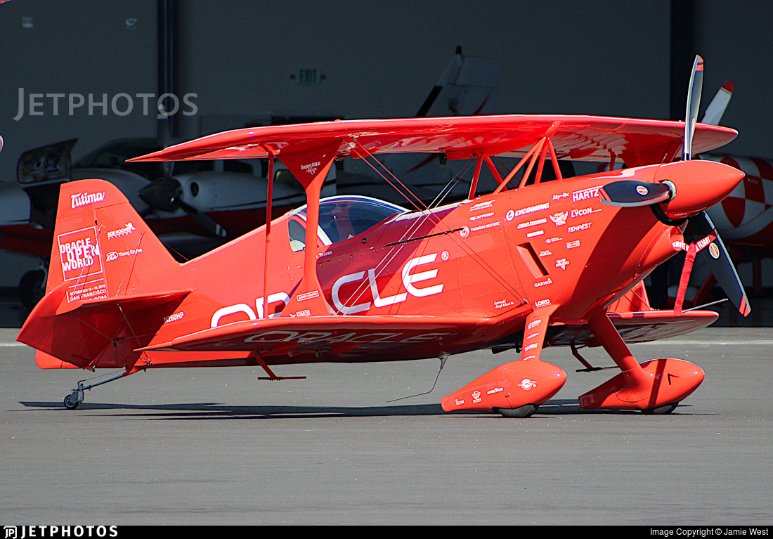 N260HP - Aviat S-1S Pitts Special - Private
