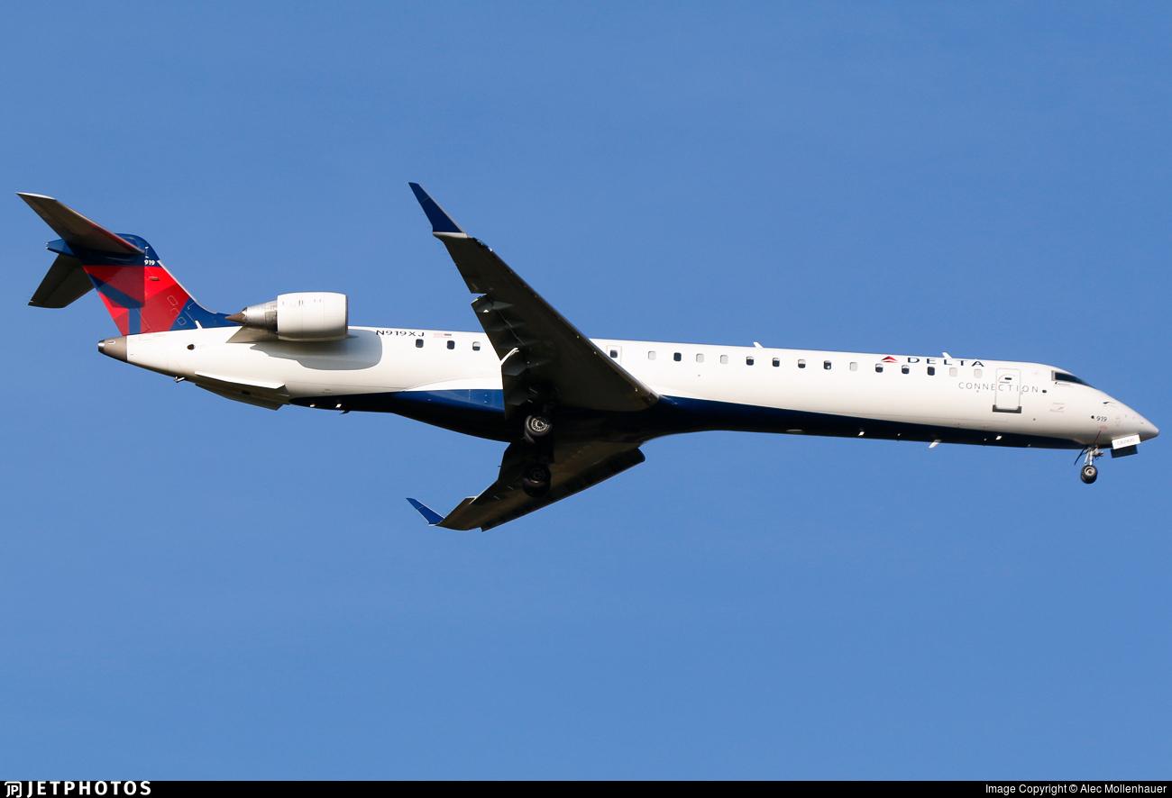 N919XJ - Bombardier CRJ-900LR - Delta Connection (Endeavor Air)