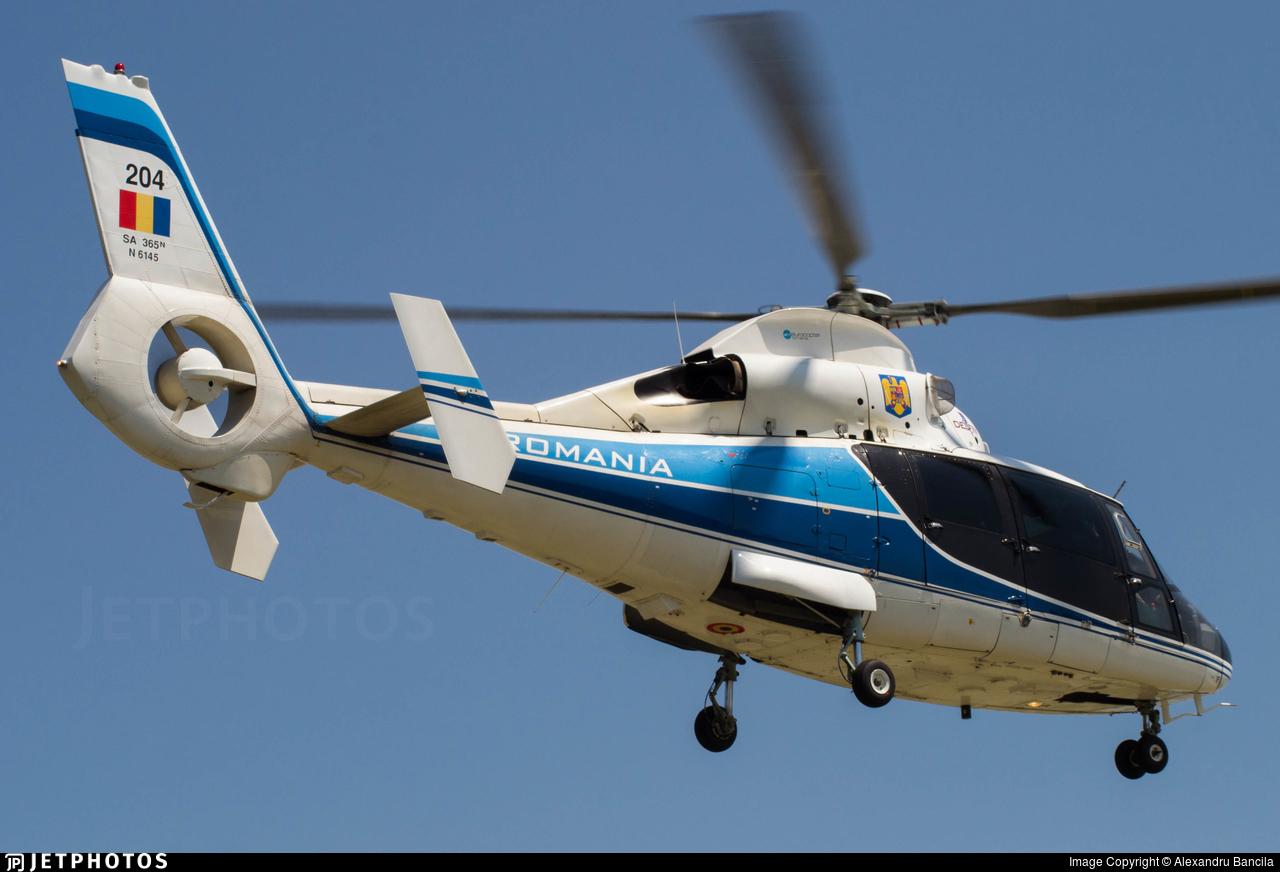 204 - Aérospatiale SA 365N Dauphin 2 - Romania - Serviciul Roman de Informatii