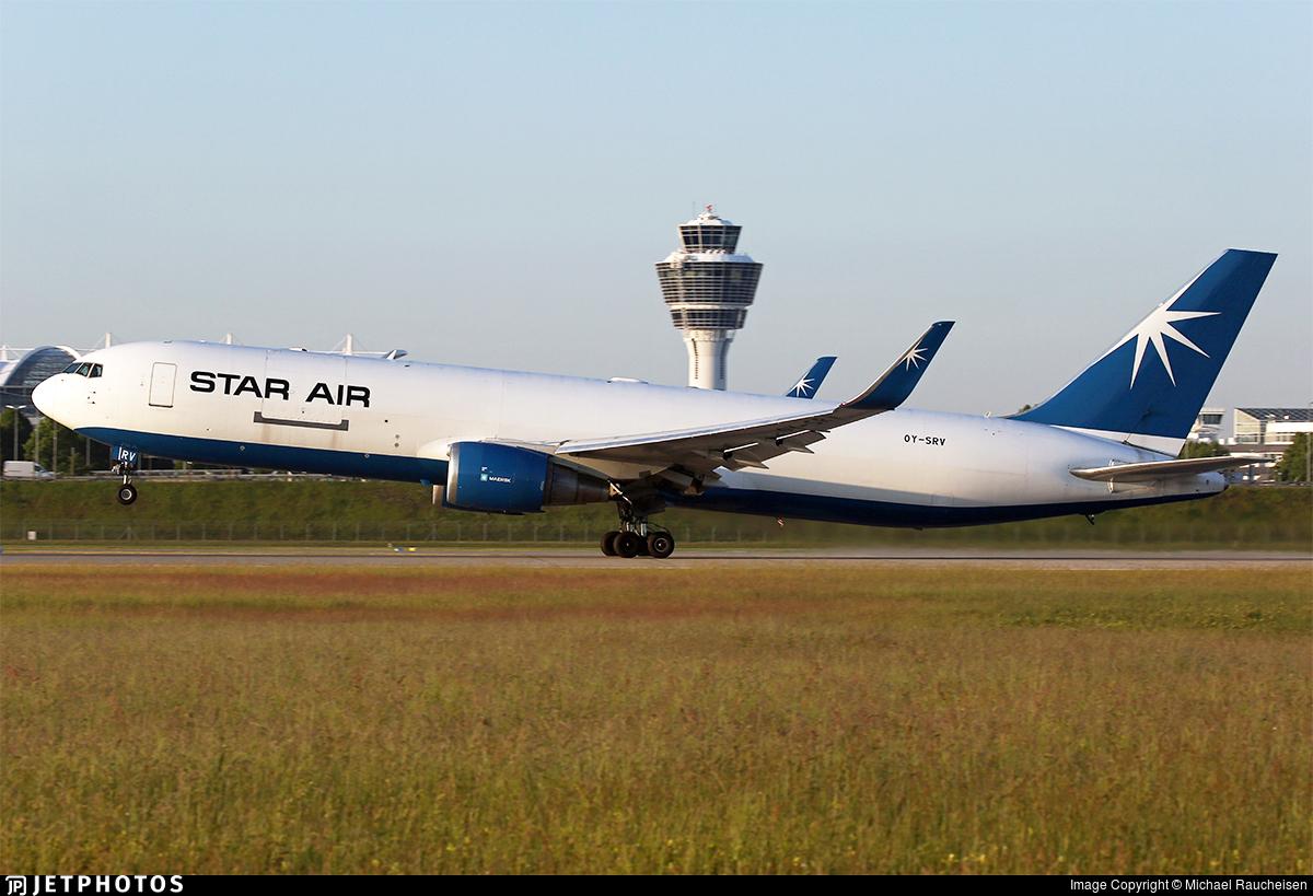 OY-SRV - Boeing 767-346F(ER) - Star Air