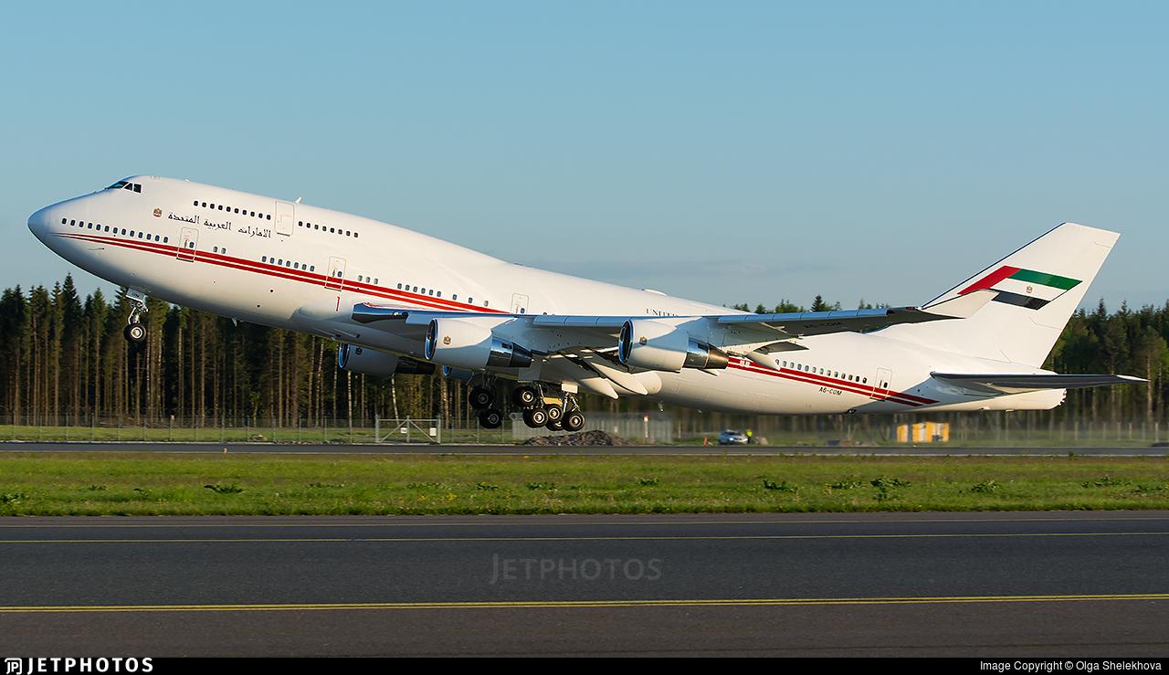 A6-COM - Boeing 747-433(M) - United Arab Emirates - Dubai Air Wing