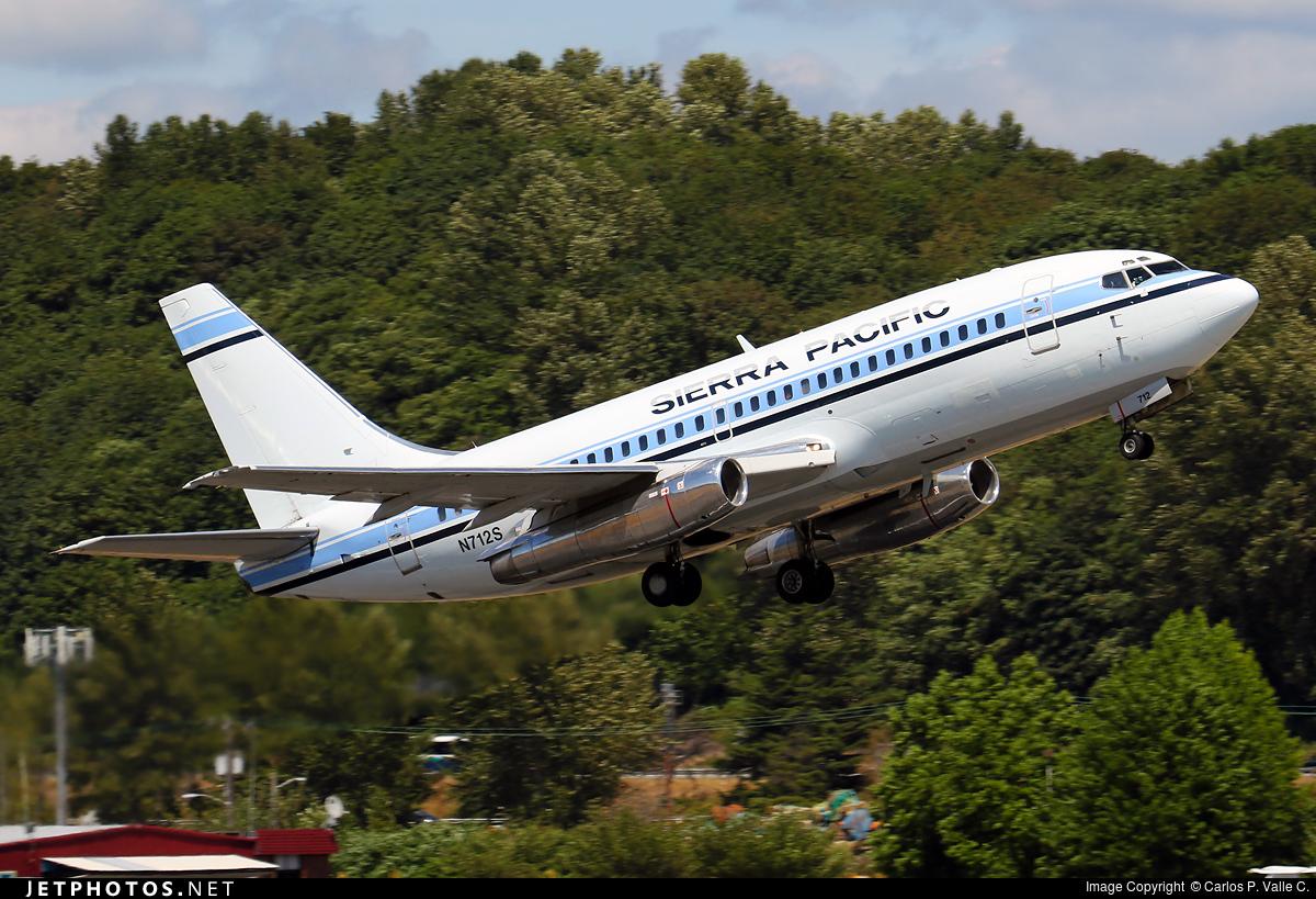 N712S - Boeing 737-2Y5(Adv) - Sierra Pacific Airlines