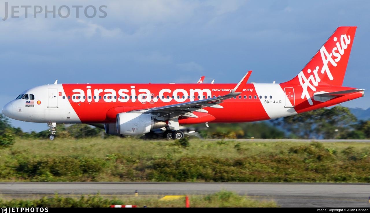 9M-AJC - Airbus A320-216 - AirAsia