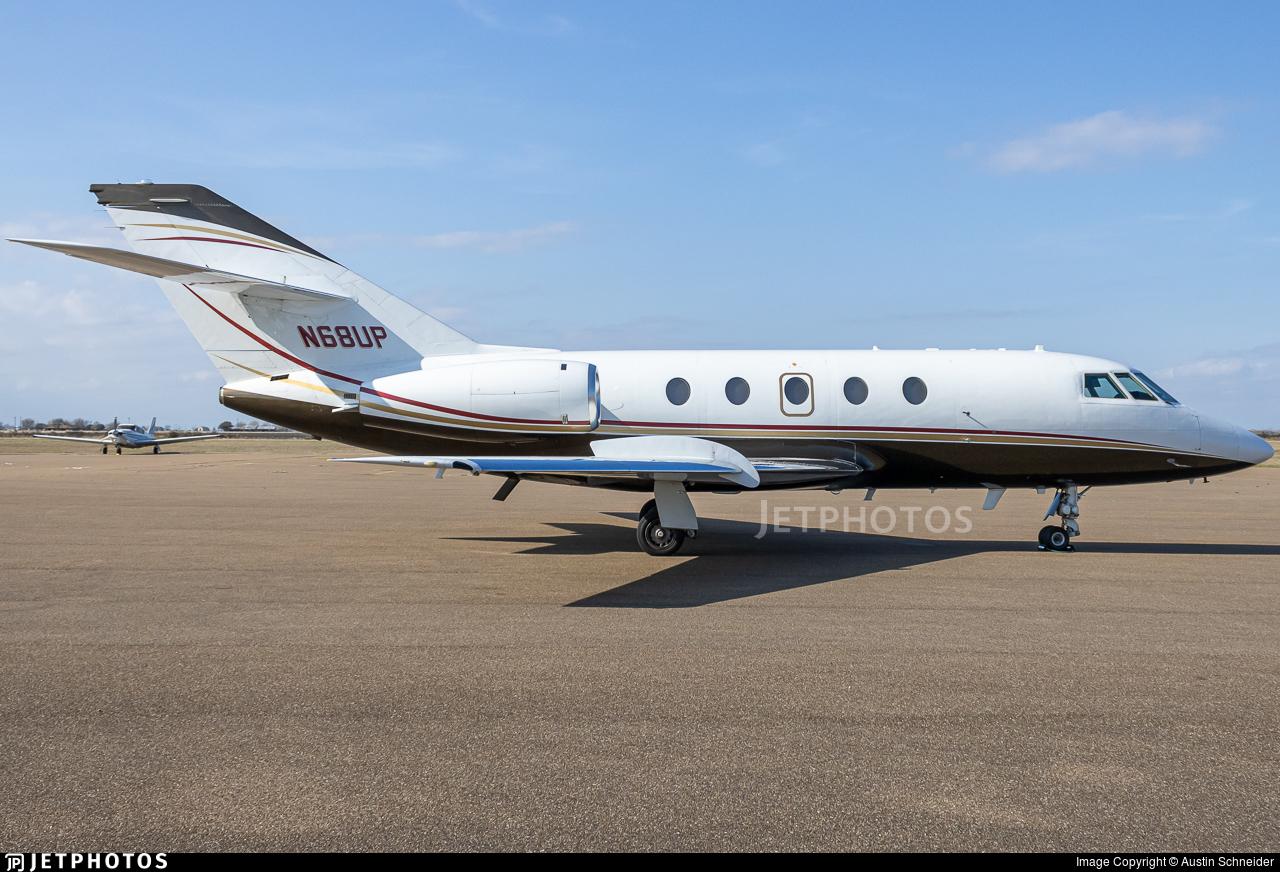 N68UP - Dassault Falcon 20 - Private