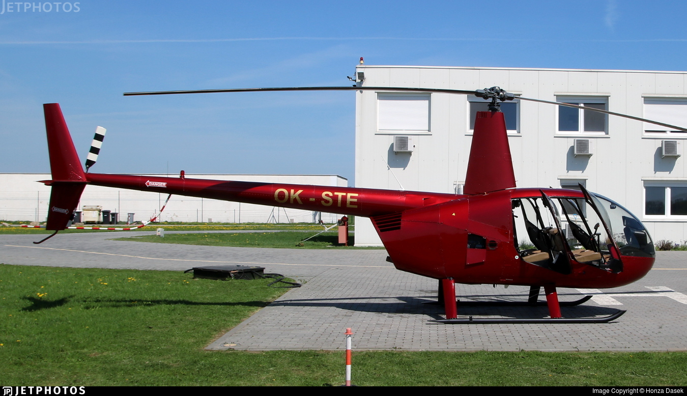 OK-STE - Robinson R44 Raven - LPS - Letecké Práce a Služby